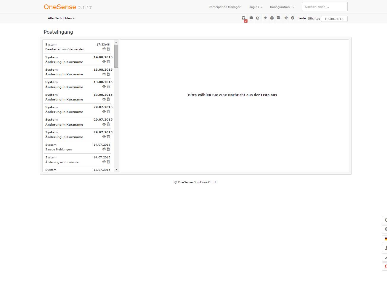 OneSense Inbox