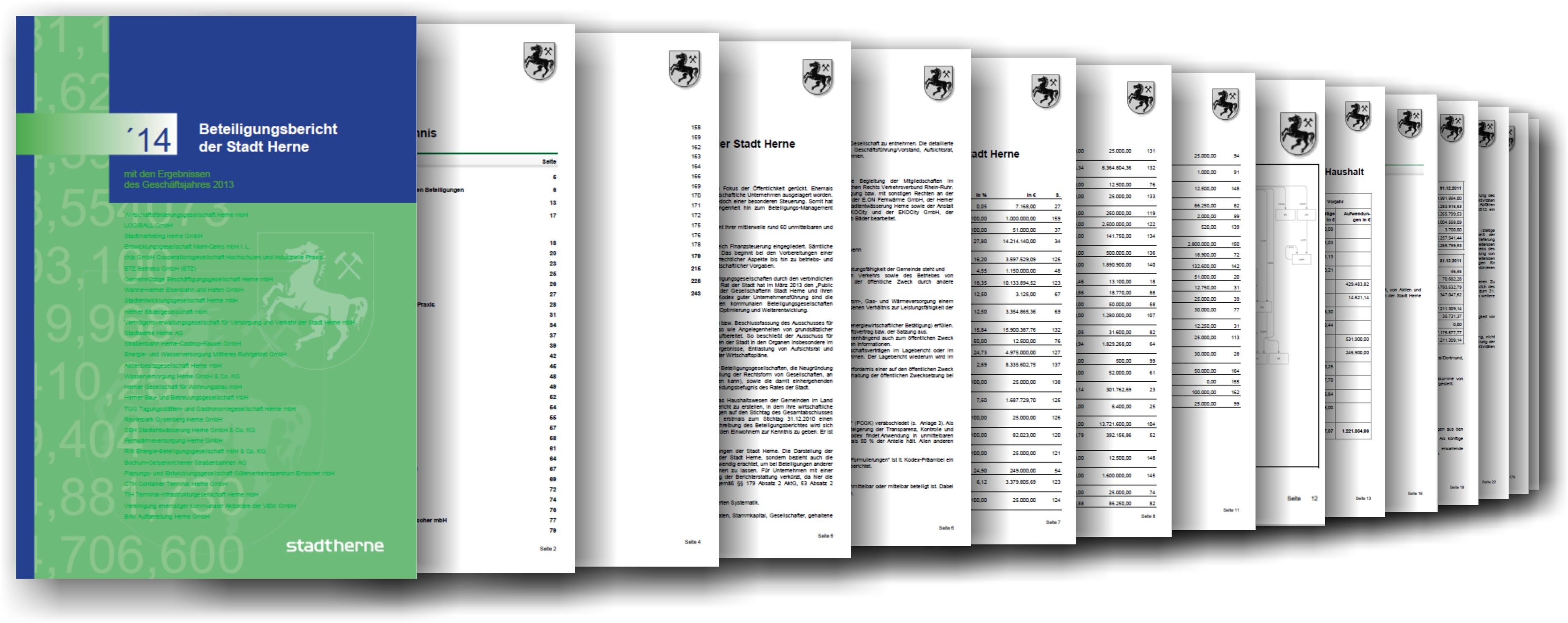 Beteiligungsbericht der Stadt Herne